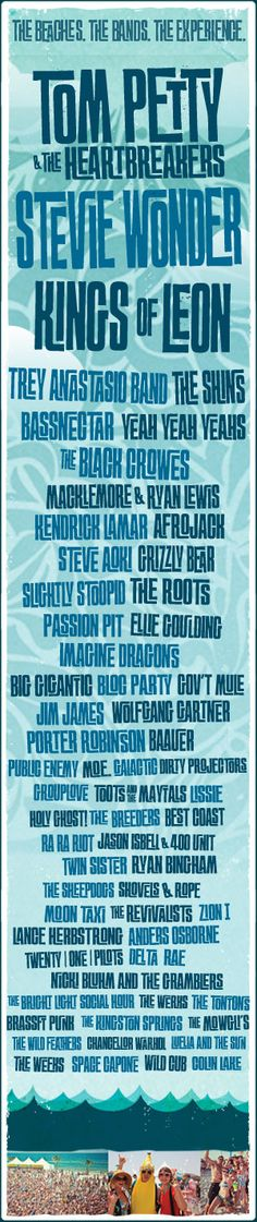 Hangout Music Festival in Gulf Shores, Alabama. A music festival on the beach? Count me in.