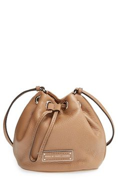 too hot to handle leather drawstring bag