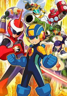 Team Proto Man - Characters & Art - Mega Man Battle Network 5