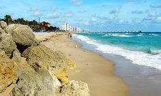 Beach scene (Deerfield Beach, Florida)