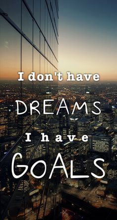I Have Goals. Motivational quotes about challenges, struggle and success in life. Tap to see more inspiring quotes! - @mobile9