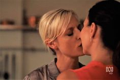 Bianking cuteness ❤️ Janet King and Bianca Grieve