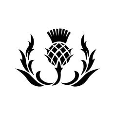 Scottish Thistle Flower Vinyl Decal Sticker