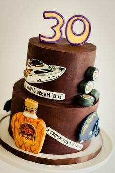 Th Birthday Cake An  Vanilla Sponge Th Birthday Cake For - Favorite birthday cake