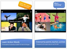 App Gone Free – Action Words from Alligator Apps -  Pinned by @PediaStaff – Please Visit http://ht.ly/63sNt for all our pediatric therapy pins
