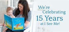 Join us for our 15th Birthday Celebration!   #iseemebooks #birthday
