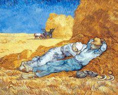 Vincent Van Gogh - La Sieste  1890 Huile sur toile