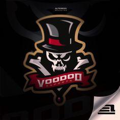 Voodoo Esport American Logo Sport Theme メディアツイート: Alter Ego Branding(@AlterEgo_ink)さん | Twitter