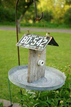 Cute bird feeder