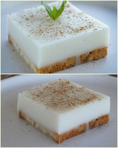 Greek Recipes, Vegan Recipes, Cooking Recipes, My Favorite Food, Favorite Recipes, Fridge Cake, Greek Sweets, Cooking Cake, Chocolate Sweets
