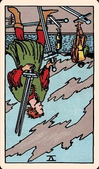The Card of the Day: The Five of Swords (Reversed)
