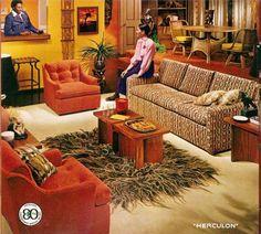 1970s Home Decor   Super Seventies — 1970s interior decor.