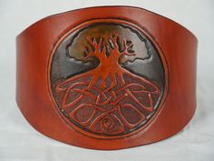 Contour Belt, Leather Corset Belt, Seed Of Life, Celtic Tree, Cute Blouses, Waist Cincher, Kind Words, Feeling Great, Wearable Art