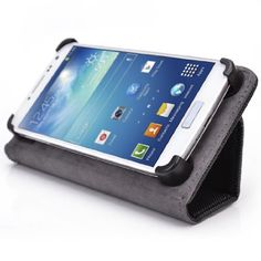 Black - Kroo Smart Accord Case with Built-in Stand fits Samsung Galaxy Win I8550 $11.99 #Kroo