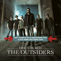 The Outsiders is the fourth studio album by American country music artist Eric Church. It was released on February via EMI Na. Country Music News, Country Songs, Country Videos, Eric Church Albums, Eric Church The Outsiders, Church News, Album Of The Year, Google Play Music, Best Albums
