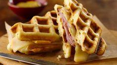 Grands!® Jr. Honey Ham Waffle Sandwiches