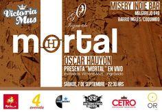 7 de septiembre: Estaré tocando en Misery Indie Bar, Coquimbo. Con Victoria Mus e Ingrávido.