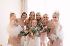 Rain all day and a pink wedding dress that was supposed to be white! Not everything went to plan but it was all smiles at their Sydney rainy day wedding. Bridesmaids, Bridesmaid Dresses, Wedding Dresses, All Smiles, Sydney, Wedding Day, Flower Girl Dresses, Pink, Photography