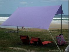 Portable Sunshade DIY - like the Sombrilla but not $150