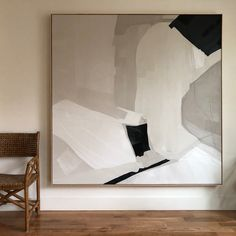 Abstract art in neutral colors — JOELLE SOMERO Draw anything you see. Design Websites, Design Blogs, Design Ideas, Neutral Colors, Neutral Art, Painting Inspiration, Art Inspo, Diy Art, Home Art