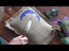 How To Needle Felt a Hummingbird - https://www.youtube.com/watch?v=XhEV67nIAzI