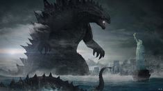 Tiamat Dragon, Original Godzilla, King Kong Vs Godzilla, Godzilla Franchise, All Godzilla Monsters, Godzilla Wallpaper, Spiderman Pictures, Gorillaz Art, Monster Art