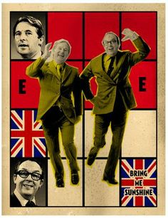 'Morecambe & Wise / Bring Me Sunshine' Gilbert & George pastiche, by Billy Childish Billy Childish, Gilbert & George, Degenerate Art, Chatham Kent, Mass Culture, British Comedy, List Of Artists, Popular Culture, My Sunshine