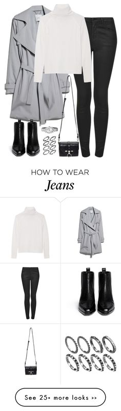 """Untitled #4824"" by eleanorsclosettt on Polyvore featuring MANGO, Topshop, Line, Givenchy, 3.1 Phillip Lim and FOSSIL"