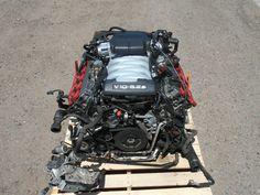 2007 06 07 08 09 Audi S8 (D3) V10 5.2L FSI 444hp Engine #9933 · $4,995.00 Audi V10, V10 Engine, Dodge Viper, Engineering, Cars, Autos, Car, Automobile, Technology