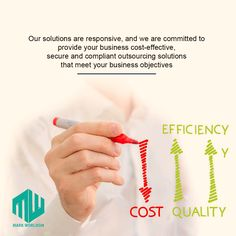 Cost effective and responsive business solutions. Visit us at www.markworldom.com #markworldom #consultingservices #outsourcingcompanies #businessoutsourcing #kpooutsourcing