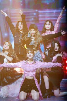 Yuqi, Soyeon, Soojin, Minnie, Miyeon e Shuhua Kpop Girl Groups, Korean Girl Groups, Kpop Girls, Extended Play, K Pop, Fandoms, Cube Entertainment, Soyeon, Girl Bands