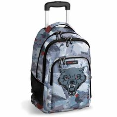 Mochila Escolar con Ruedas Bestial Wolf by DIS2: Amazon.es: Equipaje Busquets, Wolf, Backpacks, Bags, Baggage, Accessories, Handbags, A Wolf, Backpack