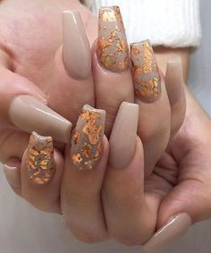 Perfect Fall Inspiration Nail Art Designs