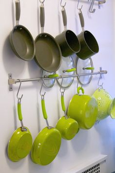 @Apartment Therapy January Cure: organized pots and pans