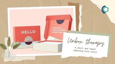 Unbox Therapy, Love At First Sight, Box Design, Falling In Love, Love Story, The Creator, Packaging, Wrapping
