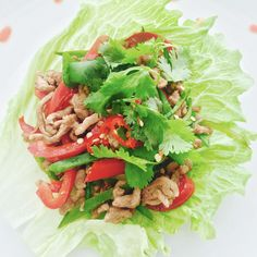 San choy bauis such a light and delicious dish that is healthy, super quick to make, full of delicious flavoursand agreat alternative to takeaway! Served in crunchy lettuce leaves, it also has t…