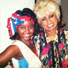 Amara La Negra and Celia Cruz