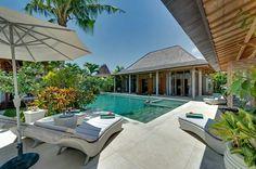 Villa Berawa, enchanting luxury villa in Bali. Sleeps 10. #luxurytravel #luxuryvillas #Bali #beach #beautiful