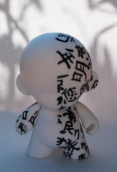 Katanaka Munny by JRphtgrphy, via Flickr. I like this piece due to the simplistic design and the peacefulness of the design.