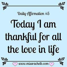 Daily Affirmation #5 #dailyaffirmations