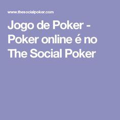 Jogo de Poker - Poker online é no The Social Poker