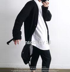 minsobi-urban-classic Men's oversize cardigan with cable pattern #minsobi #ミンソビ #cardigan #fashion #japan #japanstyle #japanfashion #mode #streetwear #urbanwear #urbanstyle #urban