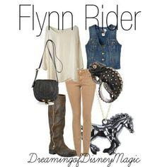 Disney inspired outfit Flynn Rider