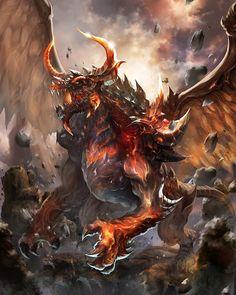 Tyrant dragon(Basic version) by antilous on DeviantArt