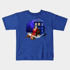10th Doctor Relax before Christmas Kids T-Shirt #Kids #TShirt #tee #clothing #teepublic #painting #digital #ink #watercolor #comic #illustration #popart #christmas #newyear #tardisdoctorwho #doctorwho #tardis #timelord #badwolf #drwho #timetravel #starrynight