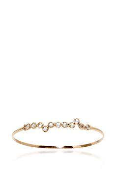 18K Rose Gold Cardio Bracelet with Diamonds by Lito (=)