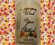 FOREVER FALL Wash Your Clothes  Laundry Suds by YellowEpiphanies
