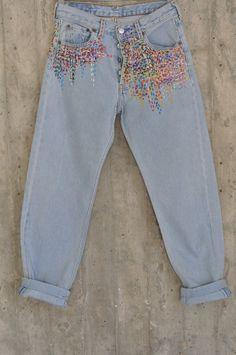 Distressed Vintage Boyfriend Jeans/Hipster Jeans/All Sizes/Grunge Jeans/boho/vintage jeans/womens jeans Denim Vintage, Jean Boyfriend Vintage, Boyfriend Jeans, Jean Vintage, Boho Vintage, Looks Vintage, Vintage Vogue, Etsy Vintage, Jeans Grunge