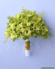 Bukiet ślubny z gladioli