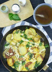 Farmer's Breakfast - German Bauernfrühstuck #brunch #vegetarian   hurrythefoodup.com